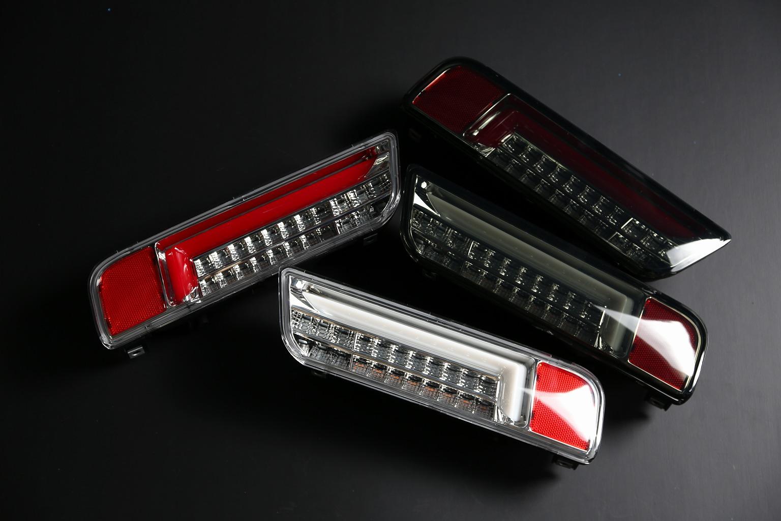 Kスタイル取材です!!アルトワークス新作LEDテールランプ  全カラー4色あります!!